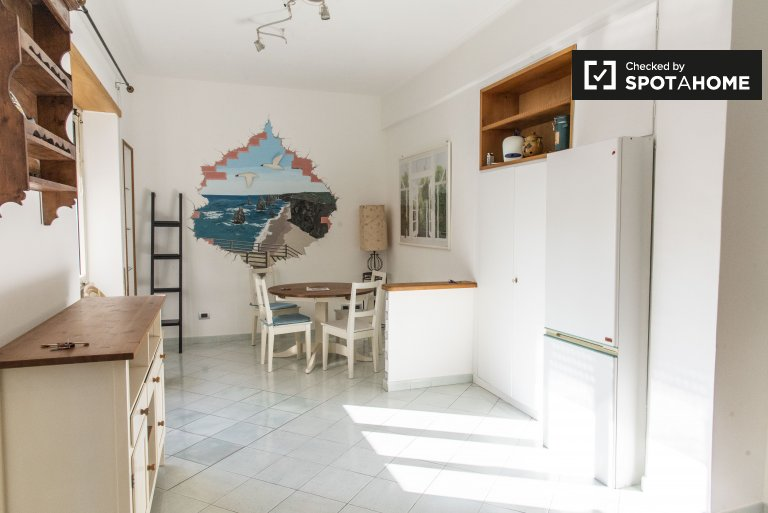 1-bedroom apartment for rent in Sant'Onofrio, Rome
