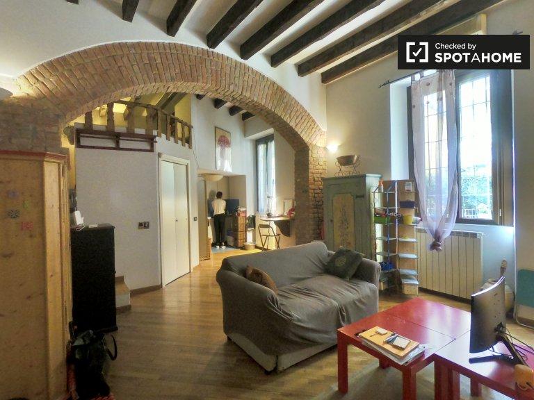 Spazioso monolocale in affitto a Porta Romana, Milano