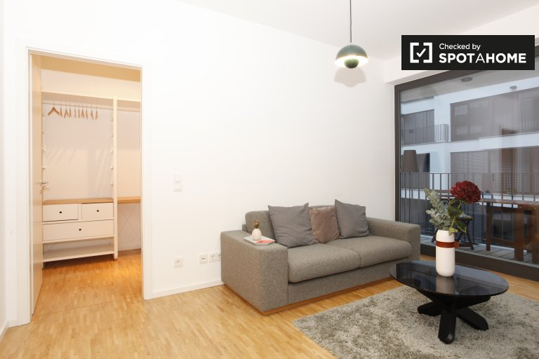 Modern 2-bedroom apartment with balcony for rent in Mitte