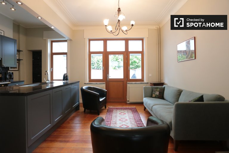 Spacious 4-bedroom house for rent Schaerbeek, Brussels