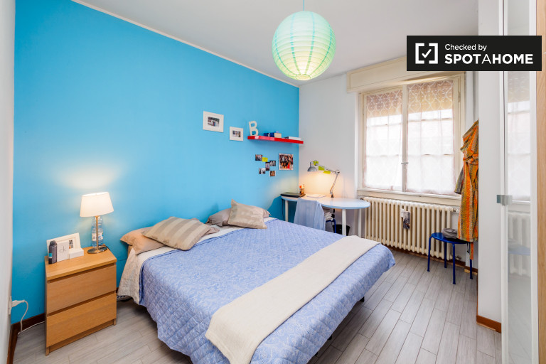 Bedroom Blue - Double bed