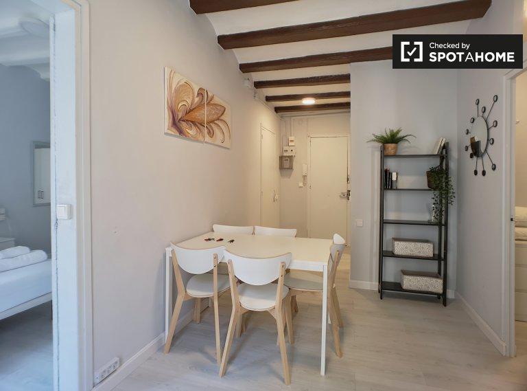 3-bedroom apartment for rent in El Raval, Barcelona