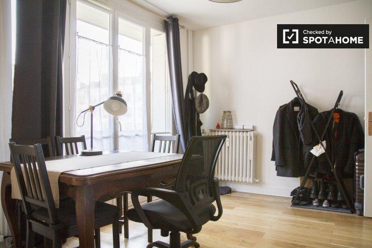Chambre à louer dans un appartement de 2 chambres à Paris 5ème Arron.