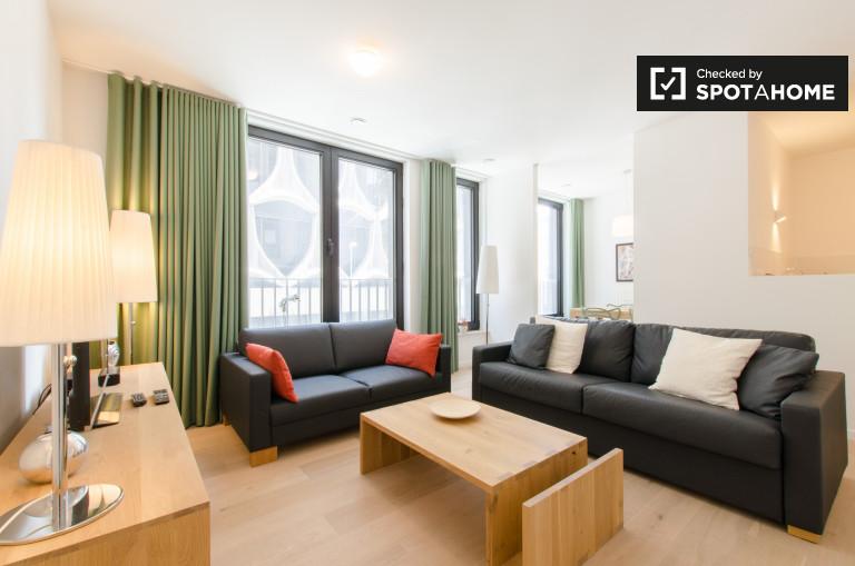 Moderno appartamento con 1 camera da letto in affitto Bruxelles centro città