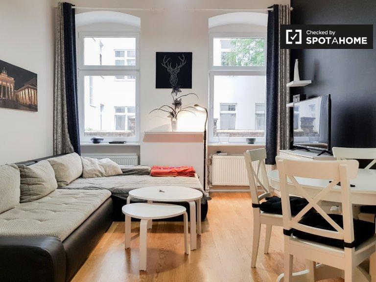Apartament z 1 sypialnią do wynajęcia w Kreuzberg, Berlin