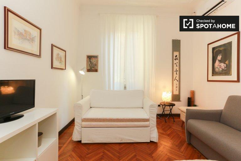 Apartamento de 1 quarto para alugar na Zona Solari, Milão