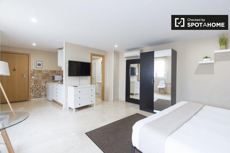 Chic studio apartment for rent in Centro, Madrid