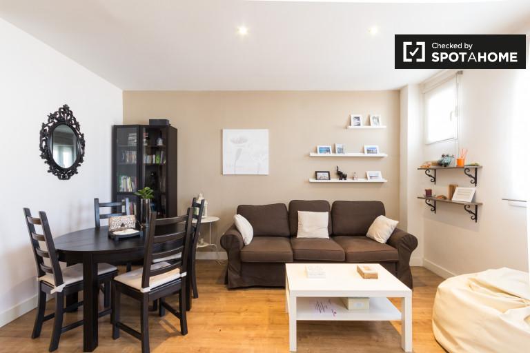 Moderno apartamento de 2 quartos para alugar em Lavapiés, Madrid