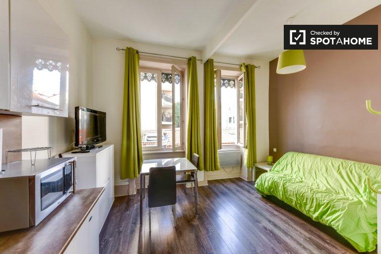 Luminous Studio-Wohnung zur Miete in Villeurbanne, Lyon