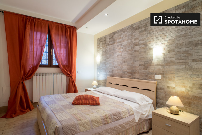 Modern studio apartment for rent in Aurelio, Rome