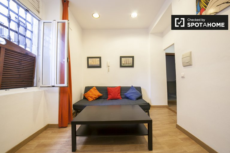 Cozy 1-bedroom apartment for rent in Centro Museo, Seville