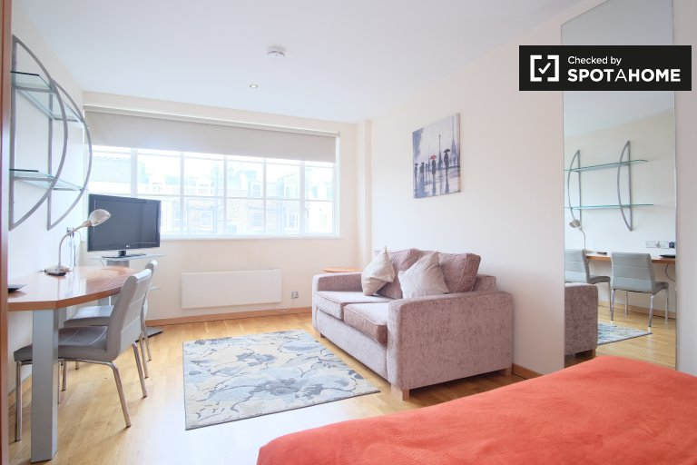 Cute studio apartment to rent in Kensington, London