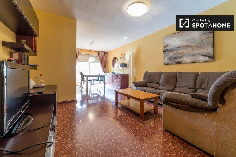 La Saïdia, Valencia kiralık geniş 3 yatak odalı daire