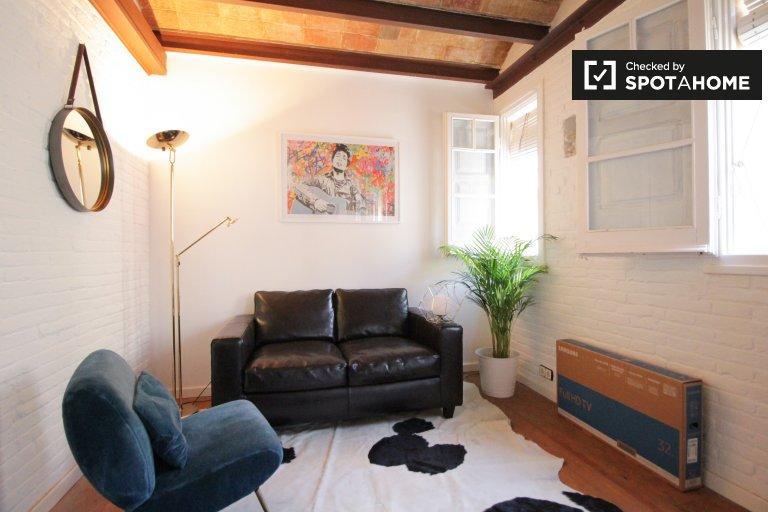 Apartamento de 1 dormitorio en alquiler en La Barceloneta, Barcelona