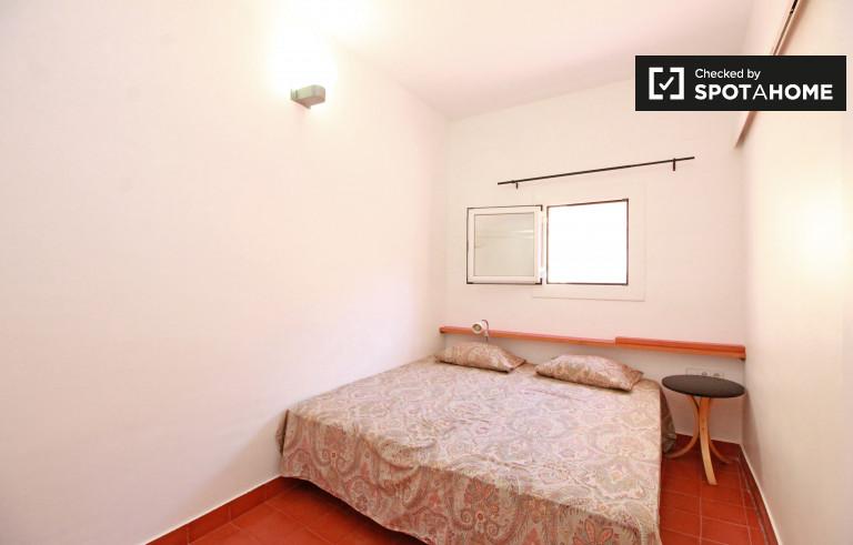 El Born, Barcelona'da satılık çift kişilik oda