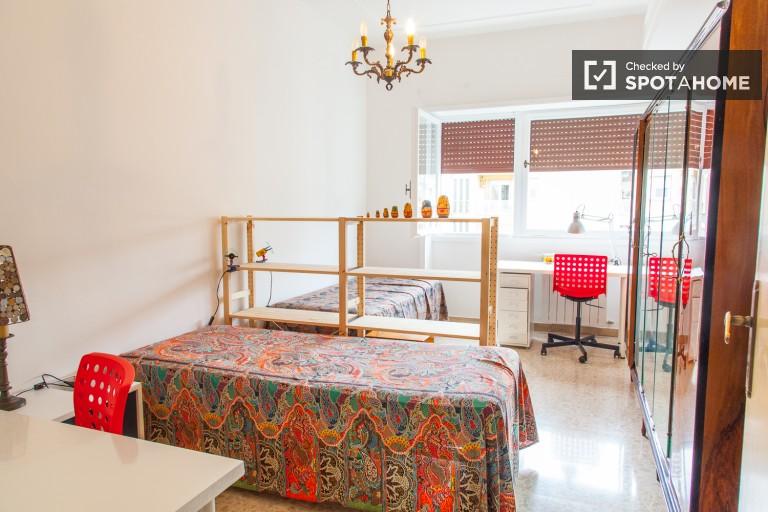 Exterior room in apartment in Tufello, Rome