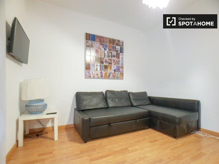 Helle 3-Zimmer-Wohnung zur Miete in Eixample Dreta