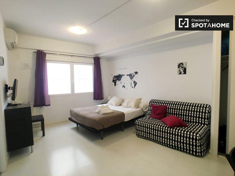 Wspaniały apartament z jedną sypialnią do wynajęcia w Lavapiés w Madrycie