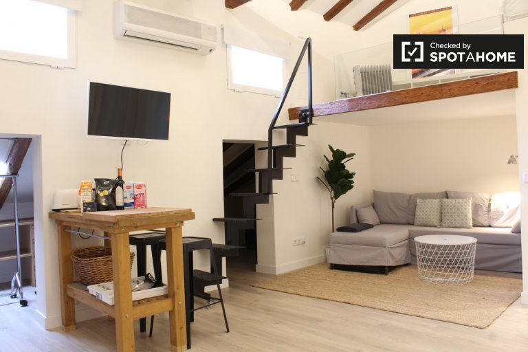 Moderno estudio en alquiler en Moncloa, Madrid