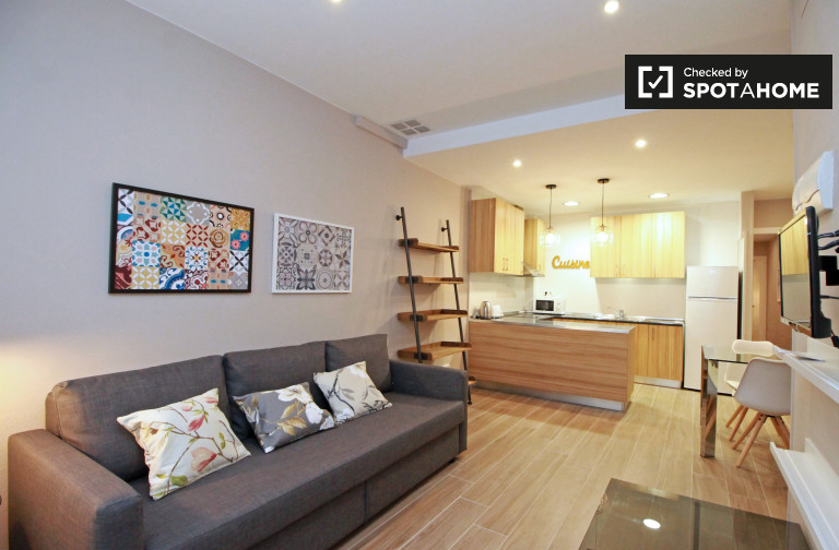 Gorgeous 2-bedroom apartment for rent in Sant Andreu, Barcelona