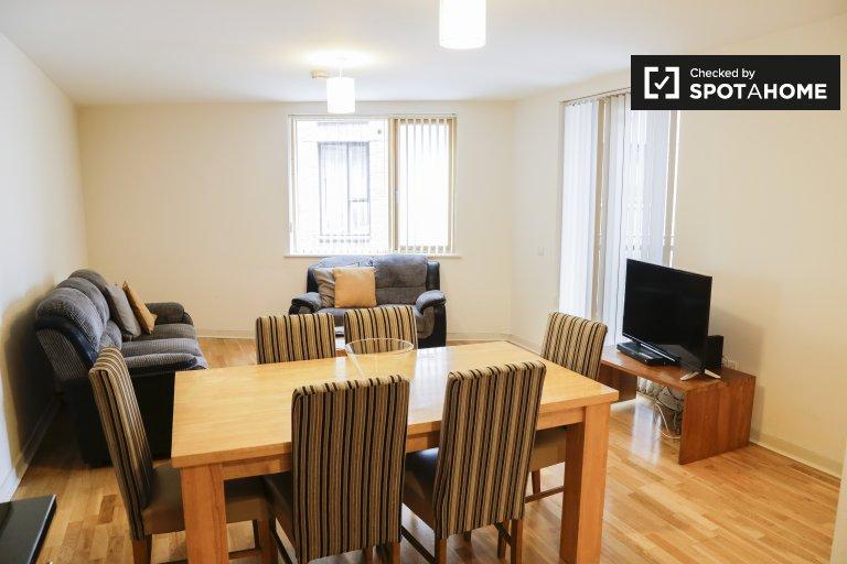 Appartement ouvert de 3 chambres à louer à Stoneybatter, Dublin