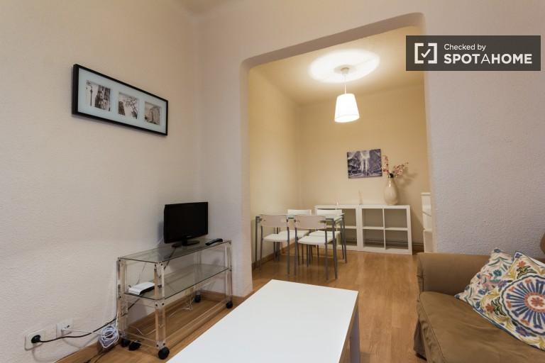 Apartamento tranquilo com 2 quartos para alugar em Salamanca, Madrid