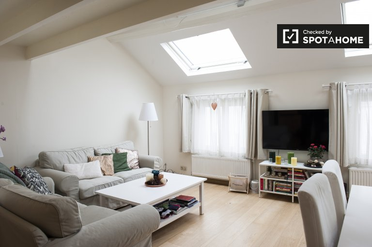 Sleek studio apartment for rent in Ixelles area