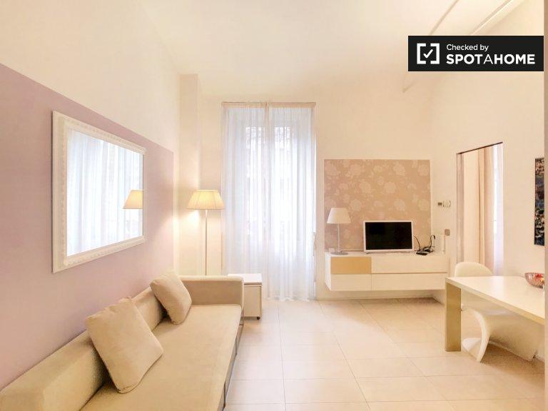 Apartamento de 1 quarto para alugar em Porta Vittoria, Milão