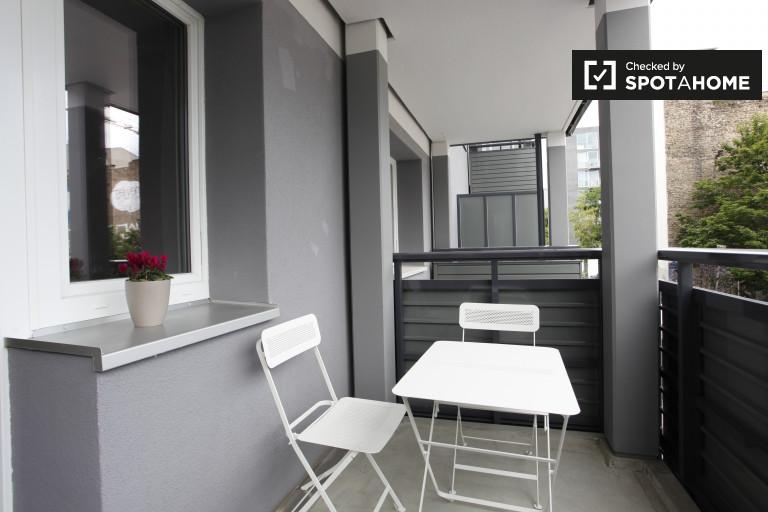 Moderno apartamento de 1 dormitorio en alquiler en Mitte