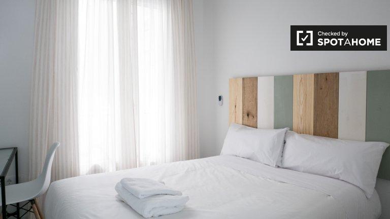 Tranquila habitación en alquiler en el centro de madrid.