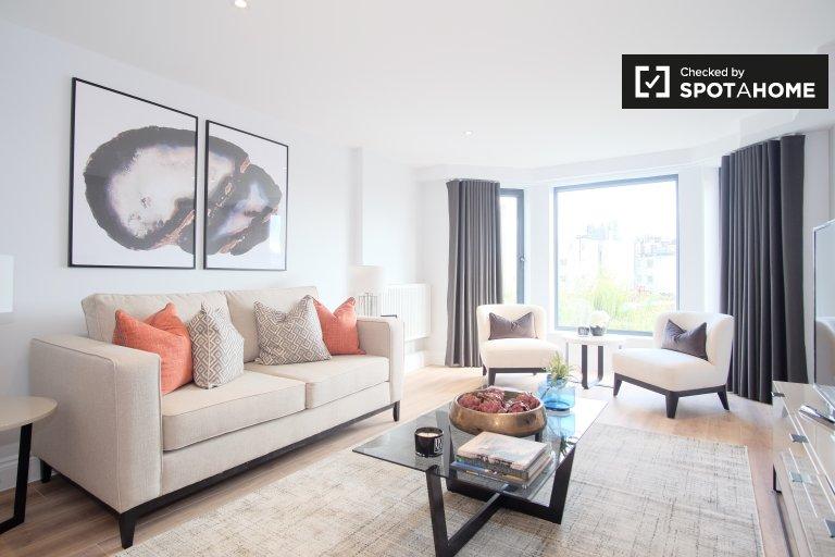 Apartamento de 2 quartos para alugar em Kensington, Londres.