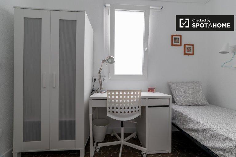 Przytulny pokój do wynajęcia w Benimaclet, Valencia