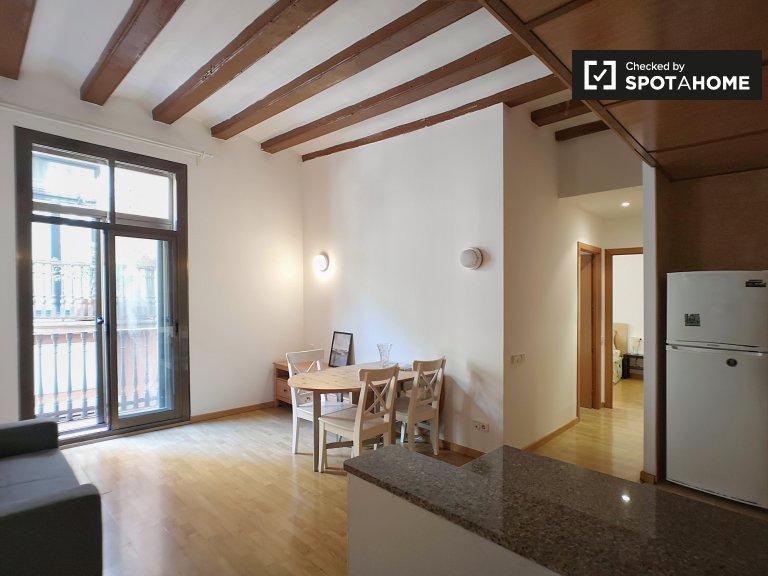 Elegante apartamento de 2 dormitorios en alquiler en Barri Gotic, Barcelona