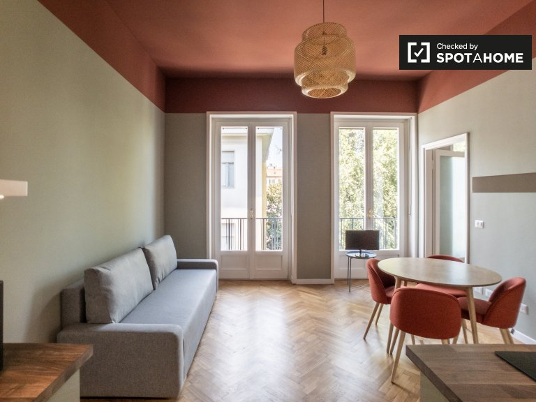 Apartamento de 1 dormitorio en alquiler en Sant'Agostino, Milán
