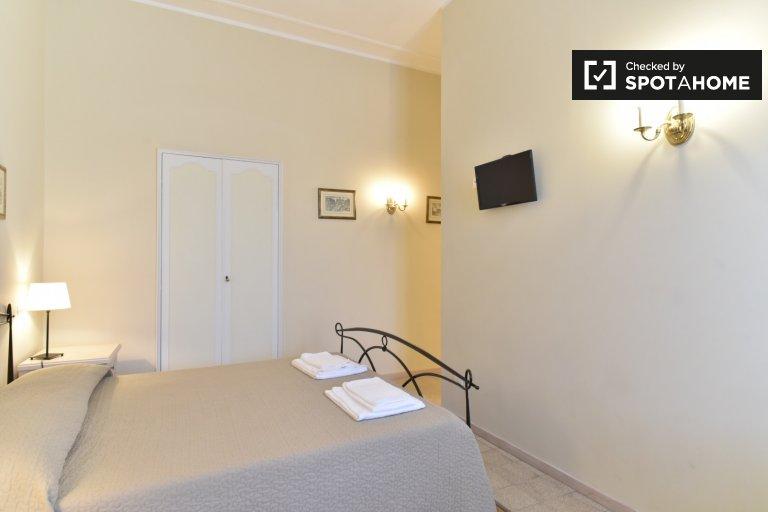 Modernes Zimmer in einer 4-Zimmer-Wohnung in San Pietro, Rom