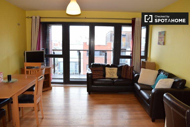 Möblierte 2-Zimmer-Wohnung zur Miete in Downtown, Dublin