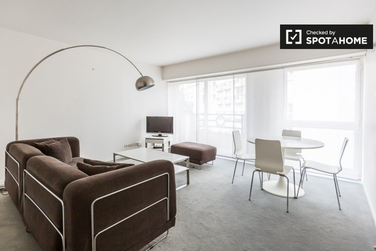 Bright 1-bedroom apartment for rent near the Seine in the 16th arrondissement