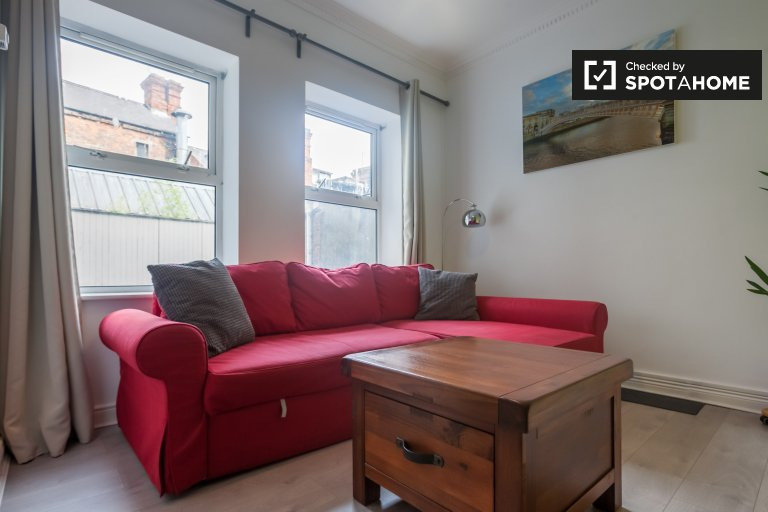 Homey 1-bedroom apartment to rent in Temple Bar, Dublin