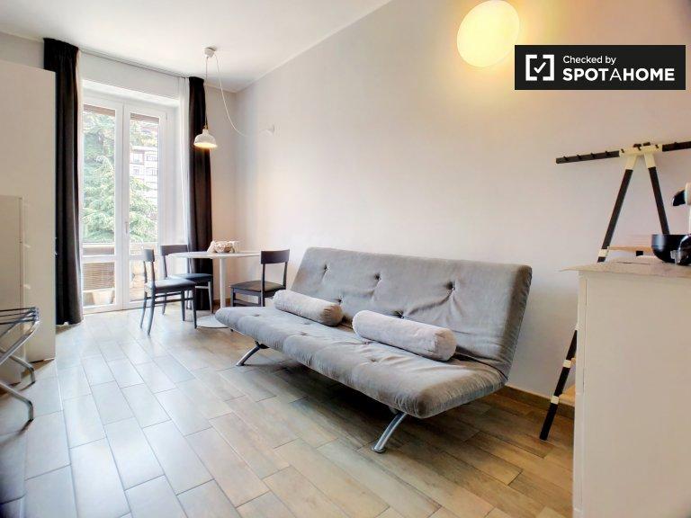 Nette Studio-Wohnung zur Miete in Guastalla, Mailand