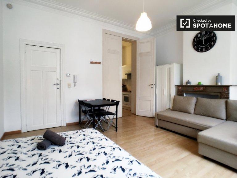 Appartement moderne 1 chambre à louer à Schaerbeek, Bruxelles
