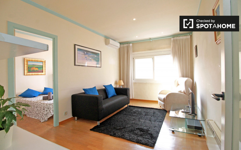 2-Zimmer-Wohnung zur Miete in Les Corts, Barcelona