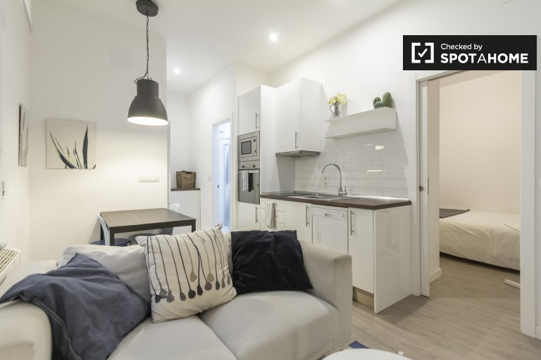 Modern 2-bedroom apartment for rent in Proseperidad, Madrid