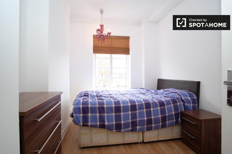 Amplo quarto em apartamento em Marylebone, Londres
