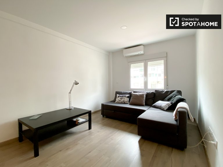Moderno appartamento in affitto con 2 camere da letto, Jesús, Valencia