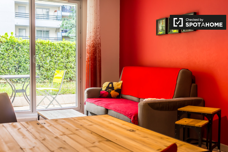 Modern 1-bedroom apartment for rent in Jean Macé, Lyon