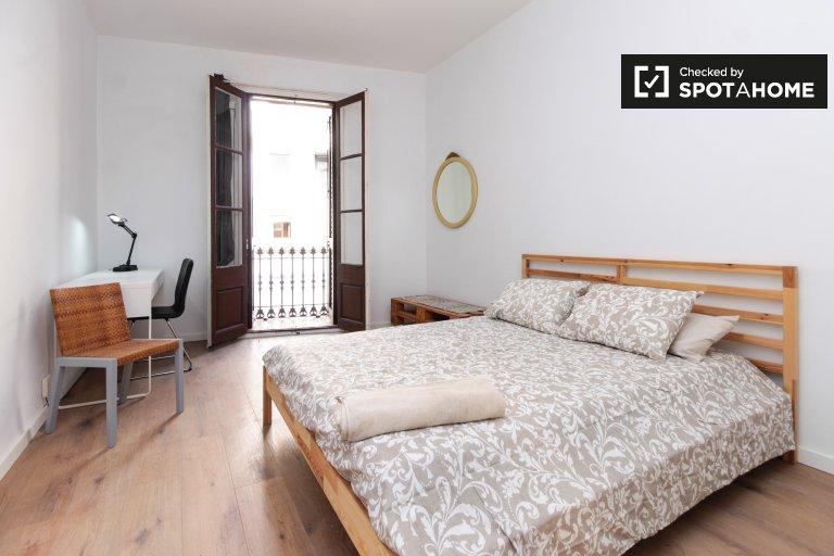 Luftiges Zimmer zur Miete in einer 4-Zimmer-Wohnung in L'Hospitalet
