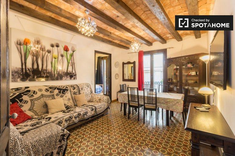 3-Zimmer-Wohnung zur Miete in Barri Gòtic, Barcelona