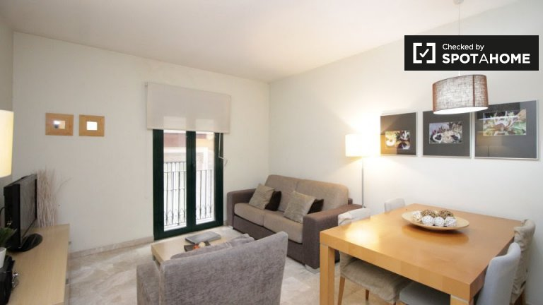 Ideal 1-bedroom apartment for rent in Barri Gòtic, Barcelona