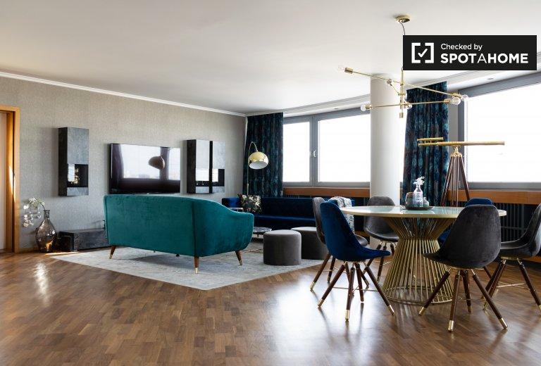 Spektakuläre Wohnung mit 2 Schlafzimmern in Kreuzberg zu vermieten