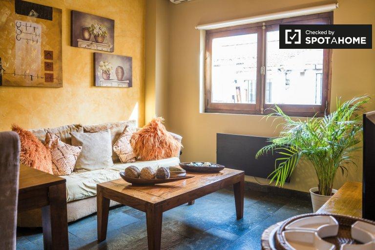 Apartamento de 1 quarto para alugar em Quatre Carreres, Valência